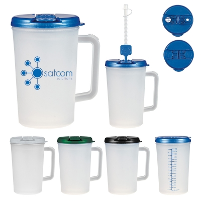 34 Oz. Medical Tumbler With Handle
