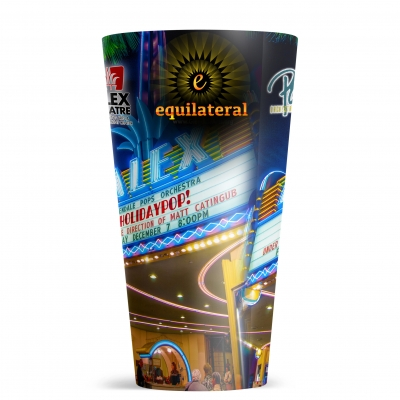 20 Oz. ThermoServ Flair Tumbler With Sublimation