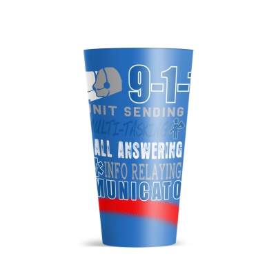 32 Oz. ThermoServ Flair Tumbler With Sublimation