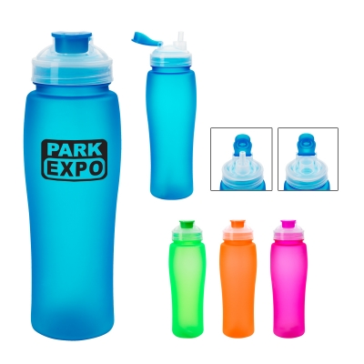 23 Oz. Fluorescent Bottle With Flip-Top