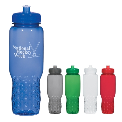32 Oz. Hydroclean Sports Bottle With Groove Grippers