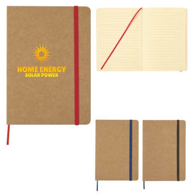 5 x 7 Eco-Inspired Strap Notebook