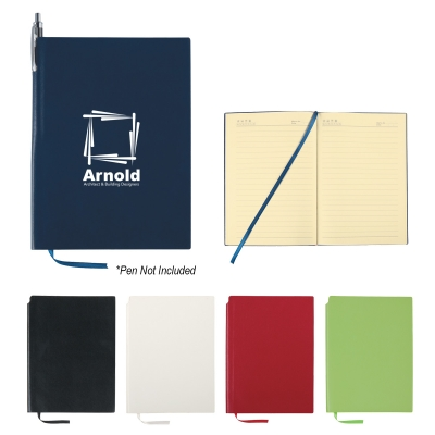 Soft Cover Journal With Pen Holder