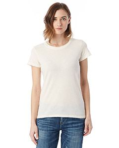 Alternative Ladies Vintage Garment-Dyed Distressed T-Shirt