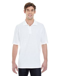 Hanes Men's 6.5 oz. X-Temp Pique Short-Sleeve Polo with Fresh IQ