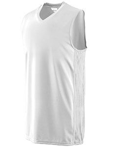 Augusta Drop Ship Adult Wicking Polyester Sleeveless Jersey with Mesh Inserts