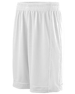 Augusta Drop Ship Adult Wicking Polyester Shorts with Mesh Inserts