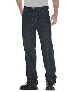 Dickies Drop Ship Unisex Relaxed Straight Fit 5-Pocket Denim Jean Pant