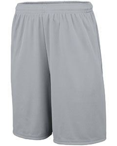 Augusta Drop Ship Youth Training Short with Pockets