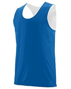 Augusta Drop Ship Youth Wicking Polyester Reversible Sleeveless Jersey