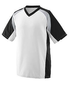 Augusta Drop Ship Adult Wicking Polyester V-Neck Short-Sleeve Jersey with Inserts