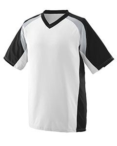 Augusta Drop Ship Youth Wicking Polyester V-Neck Short-Sleeve Jersey with Inserts