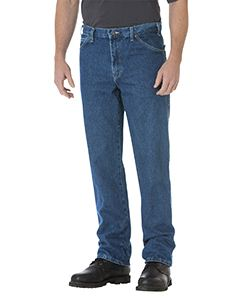 Dickies Drop Ship Unisex Regular Straight Fit 5-Pocket Denim Jean Pant