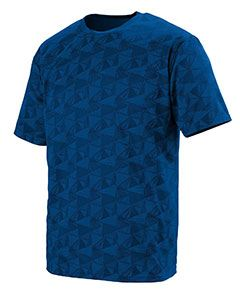 Augusta Drop Ship Youth Wicking Printed Polyester Short-Sleeve T-Shirt