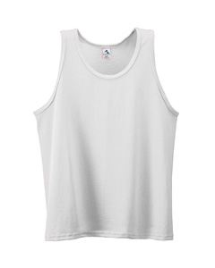 Augusta Drop Ship Poly/Cotton Athletic Tank-Youth