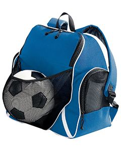 Augusta Drop Ship Tri-Color Ball Backpack