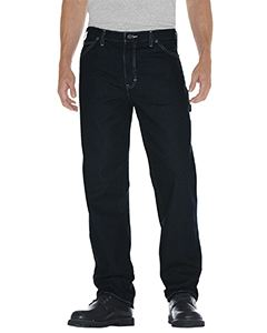 Dickies Drop Ship Unisex Relaxed Straight Fit Carpenter Denim Jean Pant