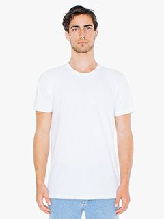 American Apparel Unisex Tall Fine Jersey Short-Sleeve T-Shirt