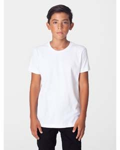 American Apparel Youth Fine Jersey USA Made Short-Sleeve T-Shirt