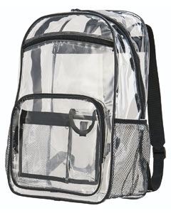 Augusta Drop Ship Clear Backpack