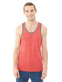 Alternative Men's Double Ringer Eco-Jersey Tank