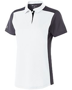 Holloway Ladies Polyester Closed-Hole Division Polo