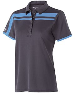 Holloway Ladies Polyester Closed-Hole Charge Polo