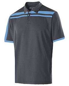Holloway Adult Polyester Closed-Hole Charge Polo