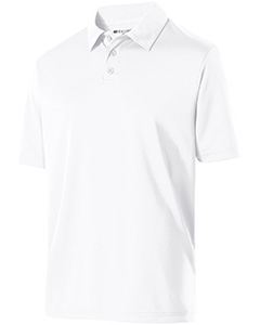 Holloway Adult Polyester Textured Stripe Shift Polo