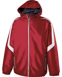 Holloway Adult Polyester Full Zip Charger Jacket