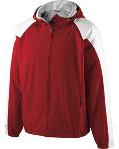 Holloway Adult Polyester Full Zip Hooded Homefield Jacket