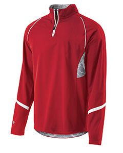 Holloway Adult Polyester 1/4 Zip Tenacity Pullover