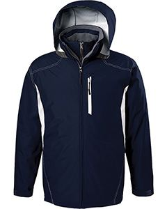 Holloway Adult Polyester Full Zip Hooded Interval Jacket