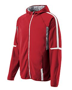Holloway Adult Polyester Full Zip Hooded Fortitude Jacket
