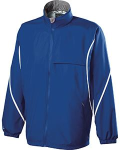 Holloway Adult Polyester Full Zip Hooded Circulate Jacket