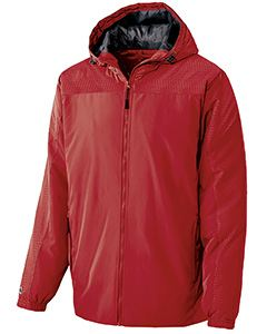 Holloway Youth Polyester Full Zip Bionic Hooded Jacket