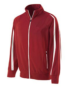 Holloway Youth Polyester Full Zip Determination Jacket