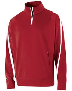 Holloway Youth Polyester 1/4 Zip Determination Pullover