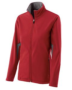 Holloway Ladies Polyester Soft Shell Full Zip Revival Jacket