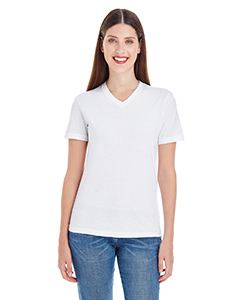 American Apparel Ladies Fine Jersey Short-Sleeve V-Neck