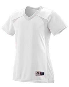Augusta Drop Ship Ladies Polyester Mesh V-Neck Short-Sleeve Jersey