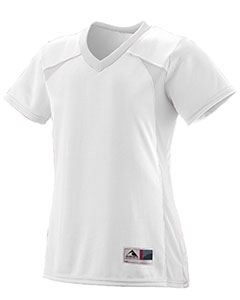 Augusta Drop Ship Girls Polyester Mesh V-Neck Short-Sleeve Jersey
