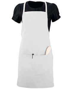 Augusta Drop Ship Adult Waiter Apron With Pockets