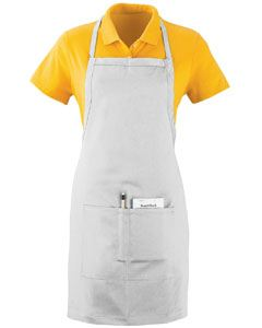 Augusta Drop Ship Adult Oversized Waiter Apron with Pockets