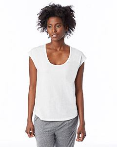Alternative Drop Ship Ladies Melrose Organic Pima Cotton Scoop T-Shirt