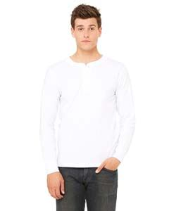 Bella + Canvas Men's Jersey Long-Sleeve Henley