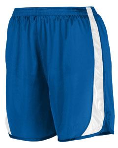 Augusta Drop Ship Youth Wicking Track Short with Side Insert