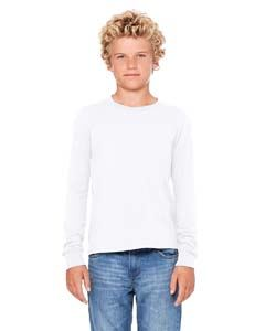 Bella + Canvas Youth Jersey Long-Sleeve T-Shirt