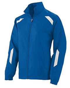 Augusta Drop Ship Ladies Water Resistant Micro Polyester Jacket