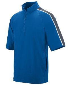 Augusta Drop Ship Youth Quantum Short-Sleeve Pullover